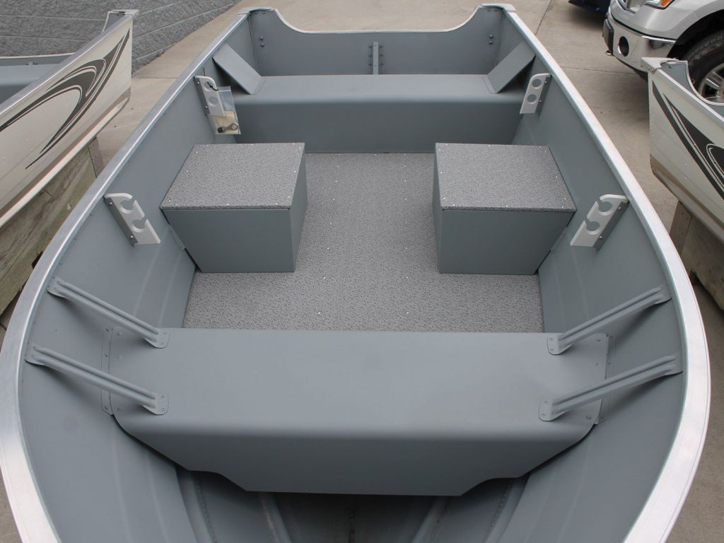 2020 Smoker Craft boat for sale, model of the boat is 13 ALASKAN TS DLX SS & Image # 2 of 4