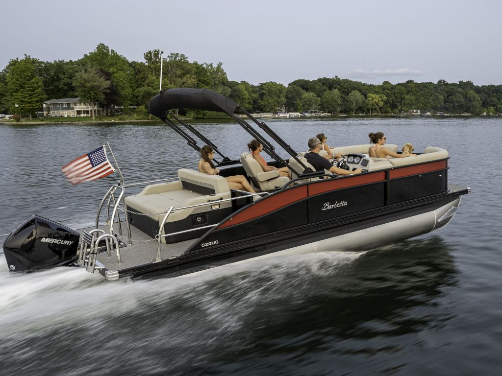 2022 Barletta boat for sale, model of the boat is C24UC & Image # 2 of 5