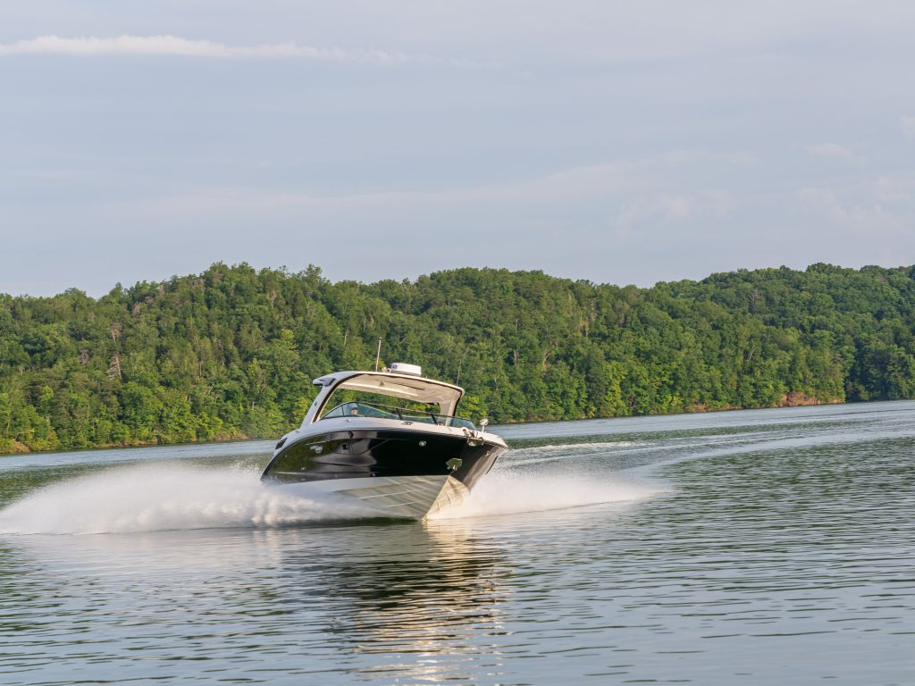 2021 Sea Ray boat for sale, model of the boat is 350slx & Image # 2 of 18