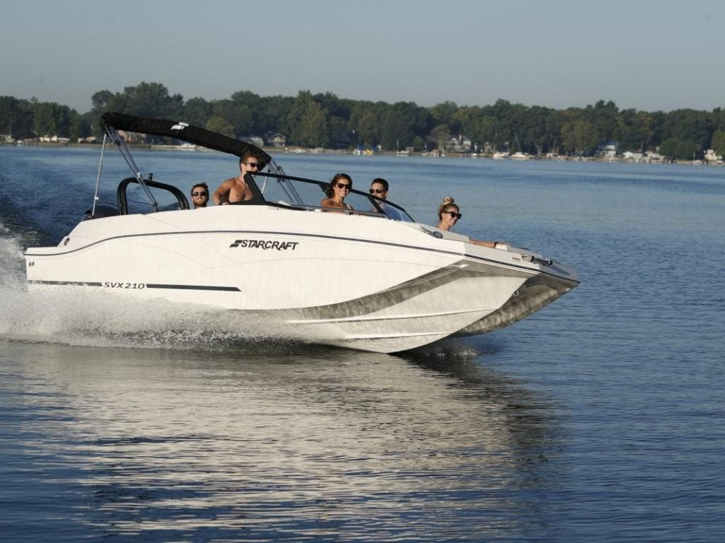 2022 Starcraft boat for sale, model of the boat is SVX 210 OB & Image # 1 of 7