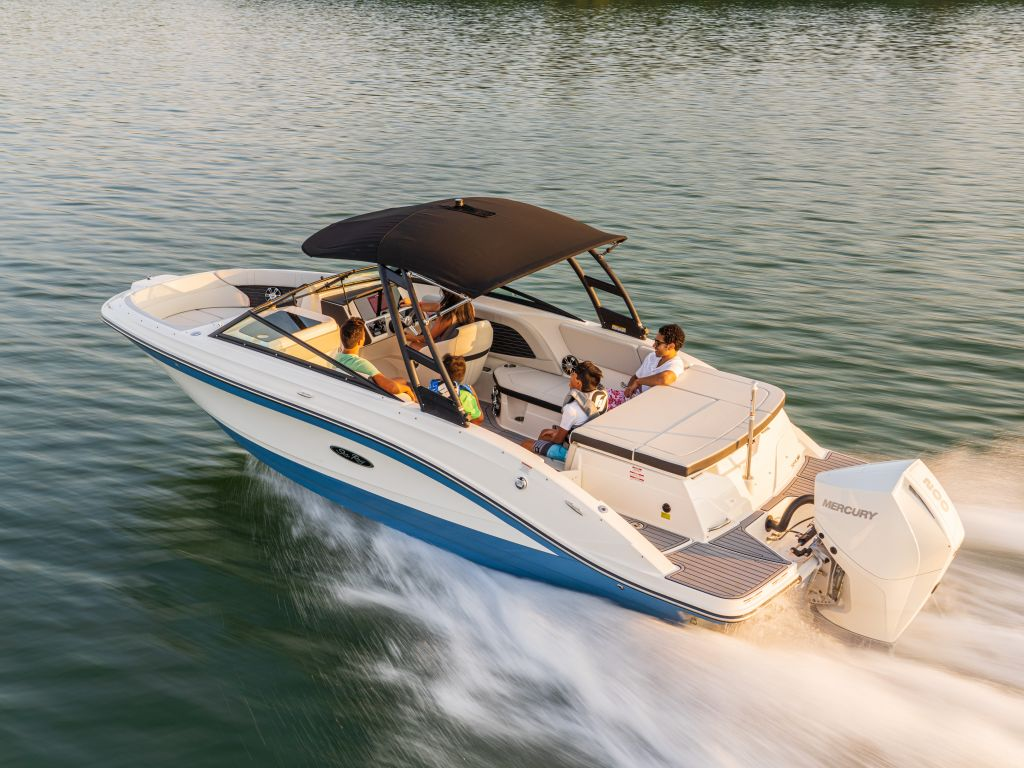 2022 Sea Ray boat for sale, model of the boat is 230spxo & Image # 1 of 6