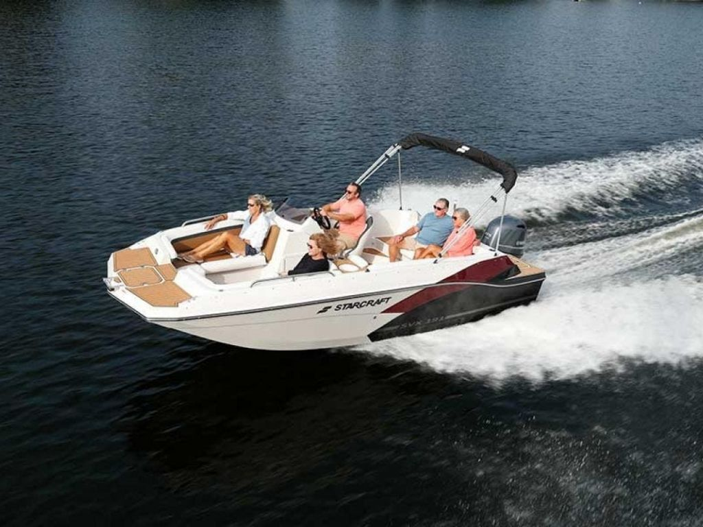 2022 Starcraft boat for sale, model of the boat is SVX 191 OB & Image # 2 of 5