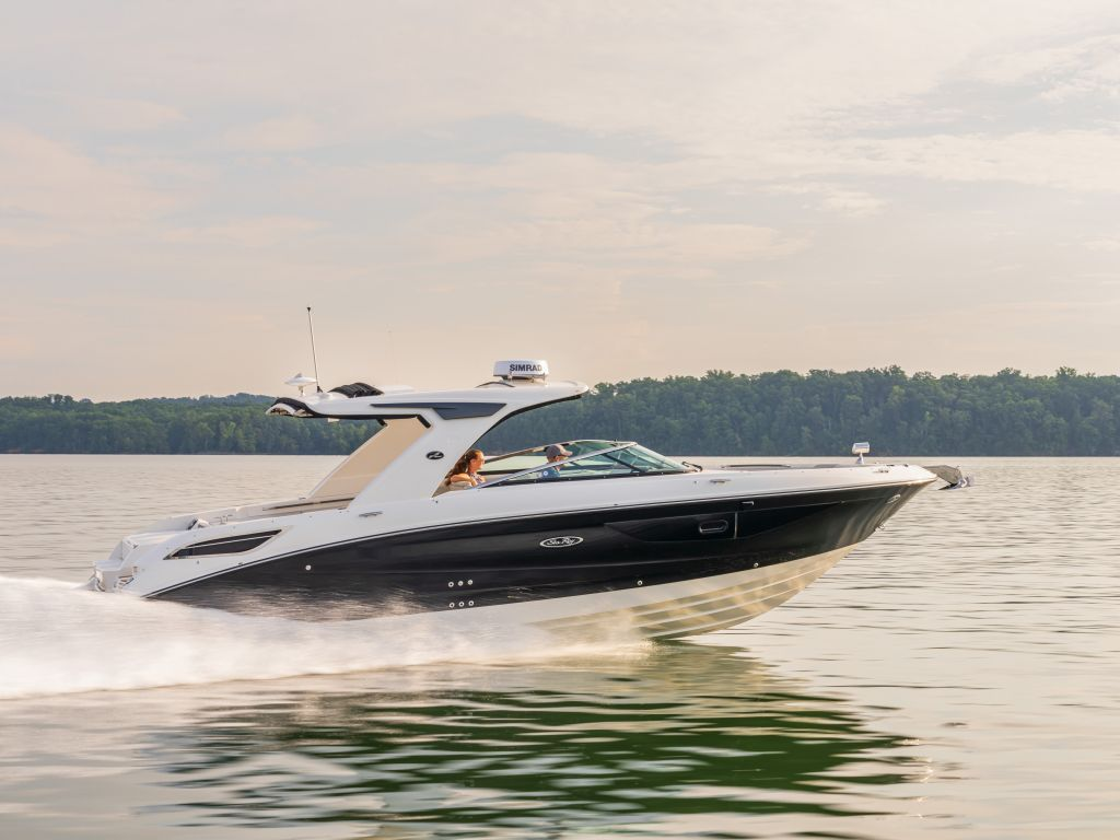 2021 Sea Ray boat for sale, model of the boat is 350slx & Image # 1 of 18