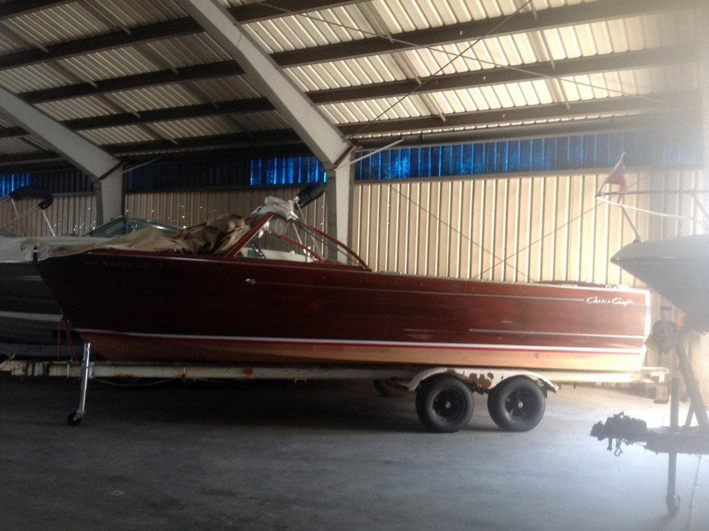 1960 Chris Craft boat for sale, model of the boat is SPORTSMAN & Image # 1 of 7