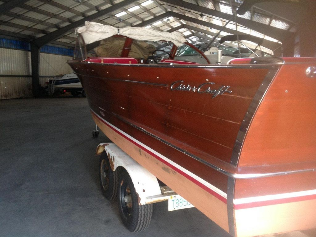 1960 Chris Craft boat for sale, model of the boat is SPORTSMAN & Image # 2 of 7