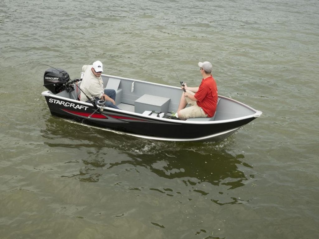 2022 Starcraft boat for sale, model of the boat is 13 ALASKAN TS DLX SS & Image # 2 of 3