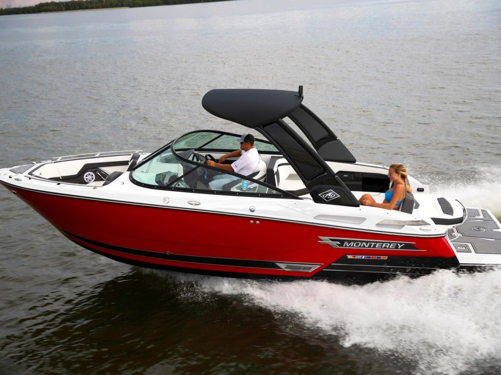 2022 Monterey boat for sale, model of the boat is 258ss & Image # 1 of 6