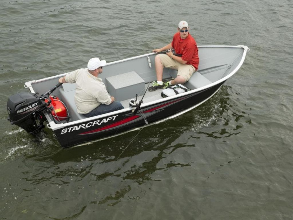 2022 Starcraft boat for sale, model of the boat is 13 ALASKAN TS DLX SS & Image # 1 of 3
