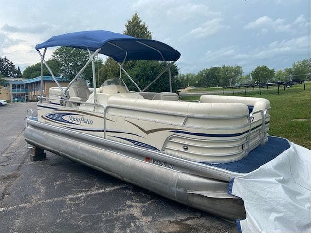 2007 Aqua-Patio boat for sale, model of the boat is 20RE & Image # 1 of 23