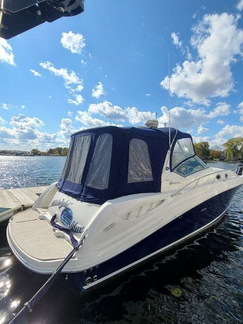 2006 Sea Ray boat for sale, model of the boat is 340 SUNDANCER & Image # 1 of 81