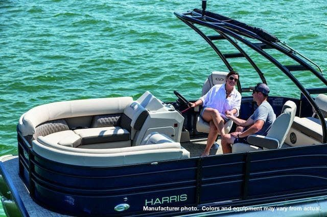 2021 Harris boat for sale, model of the boat is 230Sun/SLDH/TT & Image # 1 of 7