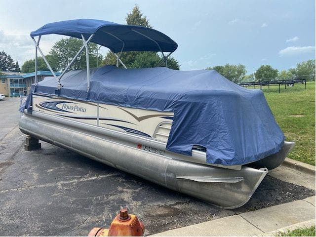 2007 Aqua-Patio boat for sale, model of the boat is 20RE & Image # 2 of 23