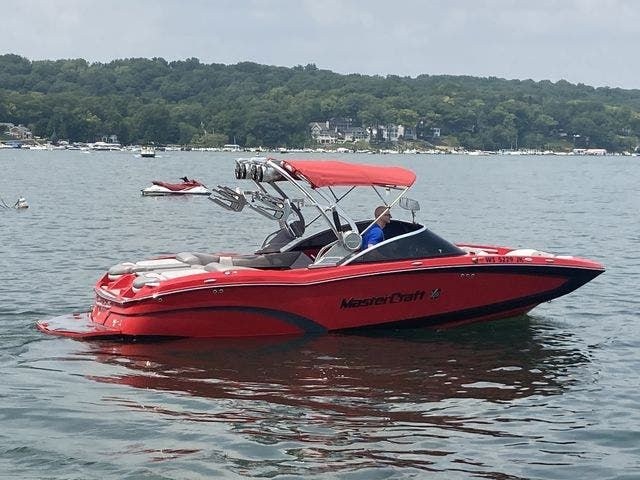 2015 Mastercraft boat for sale, model of the boat is X23 & Image # 2 of 19