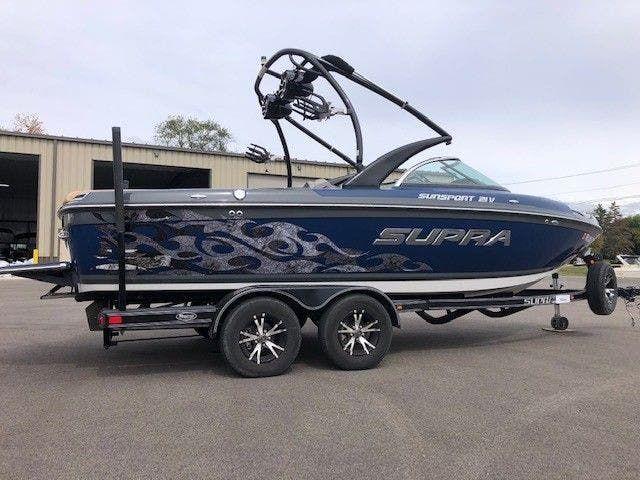 2012 Supra boat for sale, model of the boat is 21V SUNSPORT & Image # 1 of 17