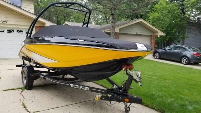 2014 Scarab boat for sale, model of the boat is 195 HO & Image # 1 of 27
