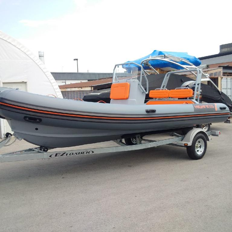 2018 Highfield boat for sale, model of the boat is OM 590 DL Hypalon Orca & Image # 4 of 4