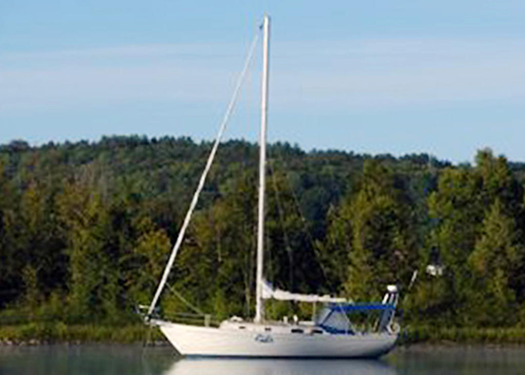 1981 Niagara boat for sale, model of the boat is 35 MkI Sloop & Image # 2 of 18