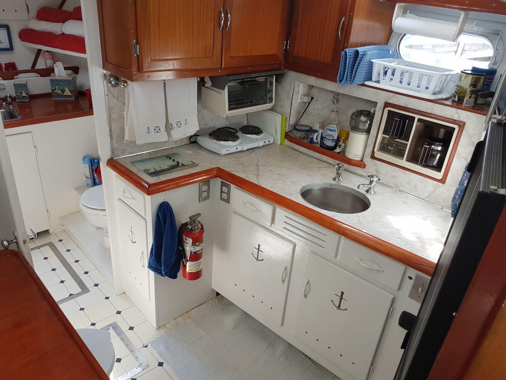 1957 Chris Craft boat for sale, model of the boat is 42 Constellation ACMY & Image # 10 of 13