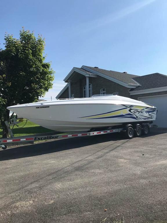 2005 Baja boat for sale, model of the boat is Outlaw 30SST & Image # 9 of 10