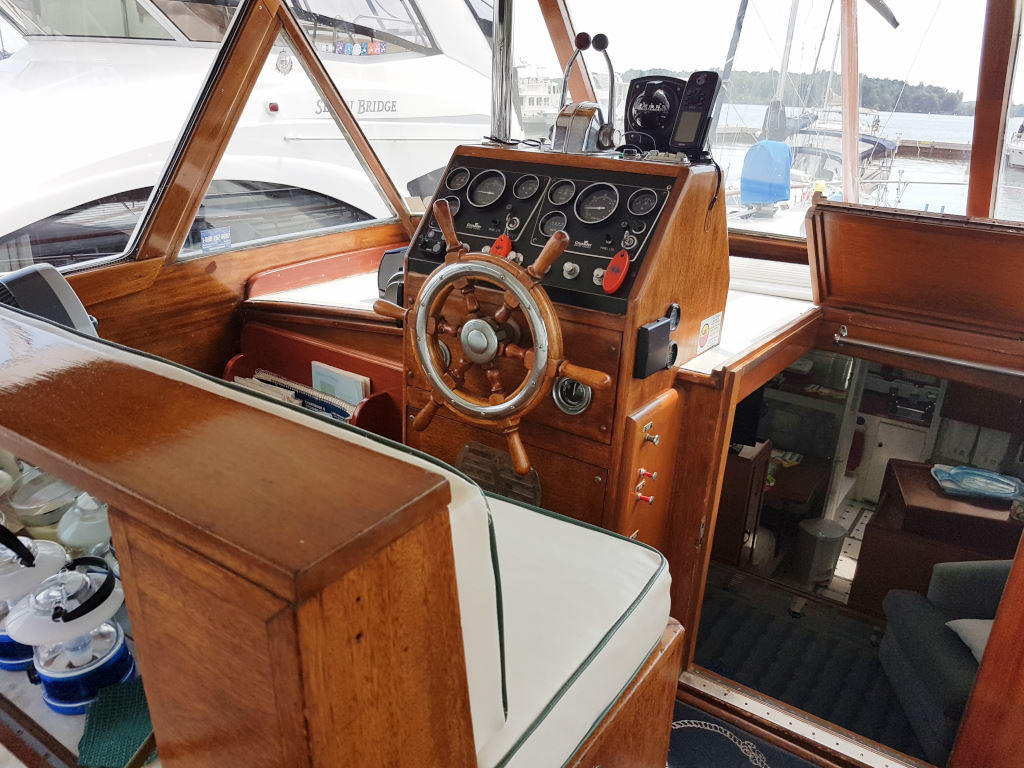 1957 Chris Craft boat for sale, model of the boat is 42 Constellation ACMY & Image # 2 of 13