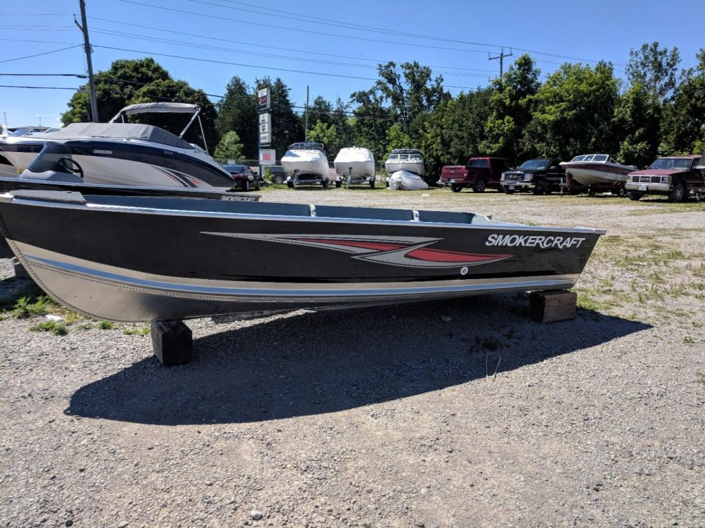 For Sale: 2018 Smoker Craft Voyager Sf 0ft<br/>Fenelon Falls Marina, Inc.