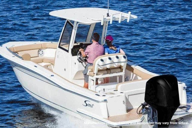 2021 Scout boat for sale, model of the boat is 235XSF & Image # 2 of 7