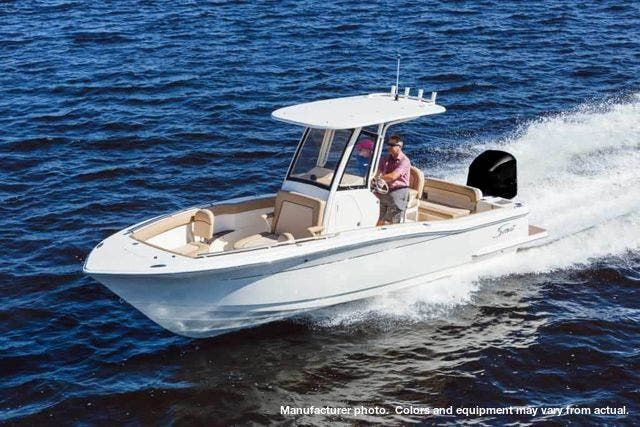 2021 Scout boat for sale, model of the boat is 235XSF & Image # 1 of 7