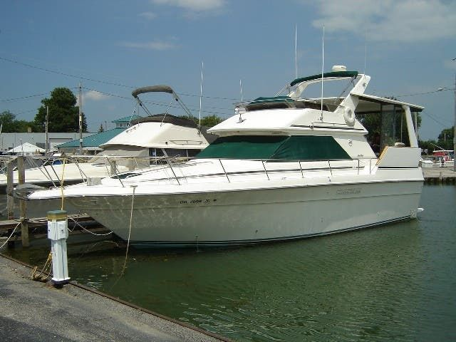1989 Sea Ray boat for sale, model of the boat is 380AC & Image # 1 of 37