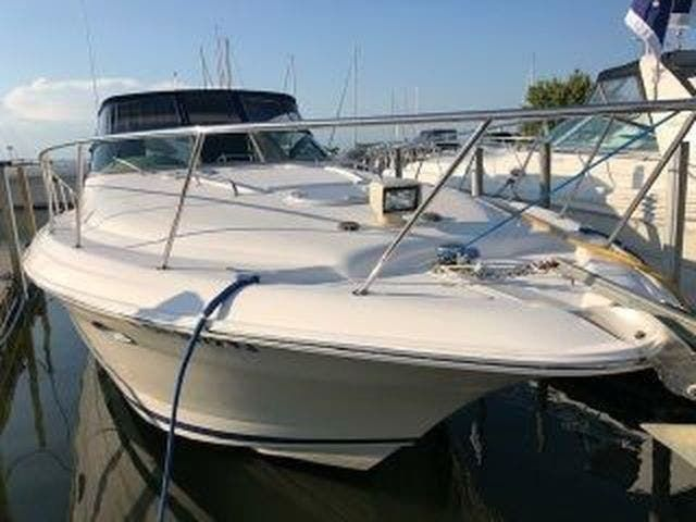 2003 Four Winns boat for sale, model of the boat is EXCALIBUR 3700 & Image # 2 of 13