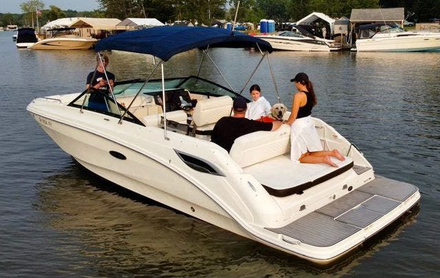 2019 Sea Ray boat for sale, model of the boat is 250 SDX & Image # 1 of 29