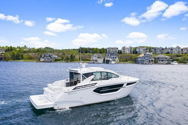 2021 Cruisers Yachts boat for sale, model of the boat is 42 CANTIUS & Image # 1 of 35