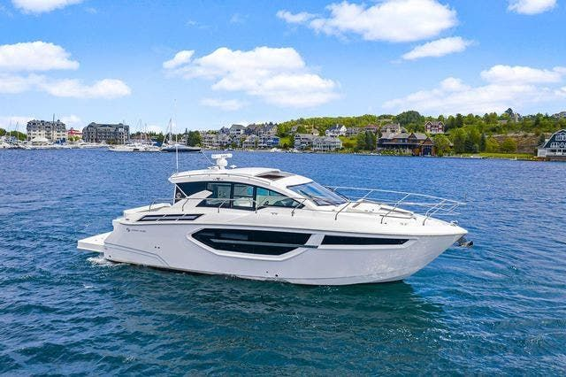 2021 Cruisers Yachts boat for sale, model of the boat is 42 CANTIUS & Image # 2 of 35