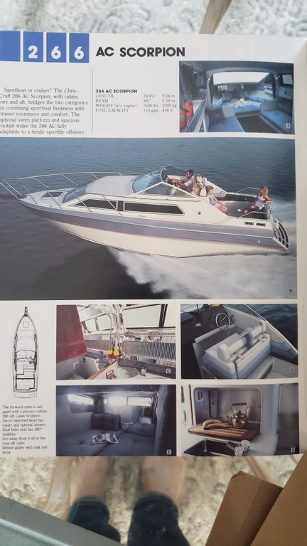 1986 Chris Craft boat for sale, model of the boat is Scorpion Aft Cabin & Image # 2 of 28