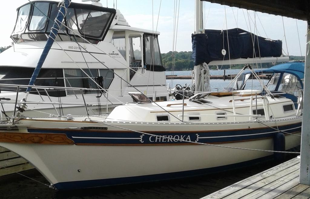 1986 Bayfield Yachts boat for sale, model of the boat is 36 & Image # 7 of 17