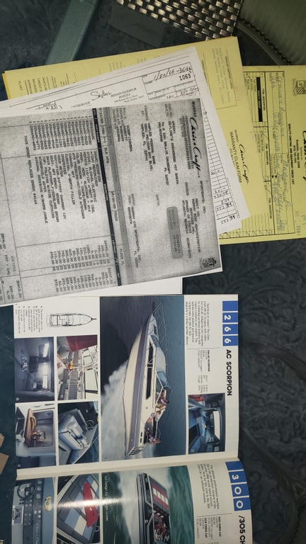 1986 Chris Craft boat for sale, model of the boat is Scorpion Aft Cabin & Image # 15 of 28