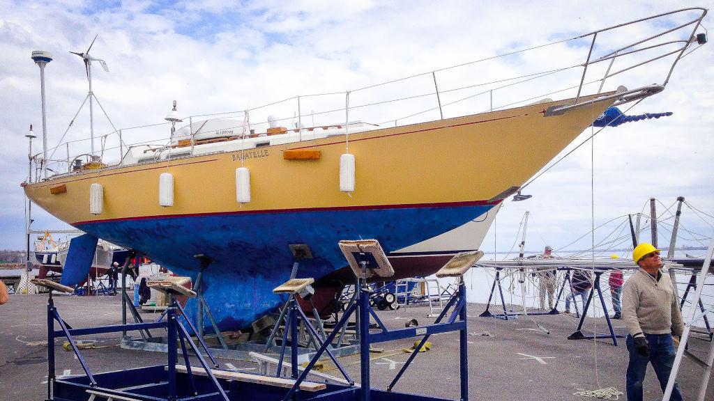 1969 C & C boat for sale, model of the boat is 41 Redline Sloop & Image # 3 of 10