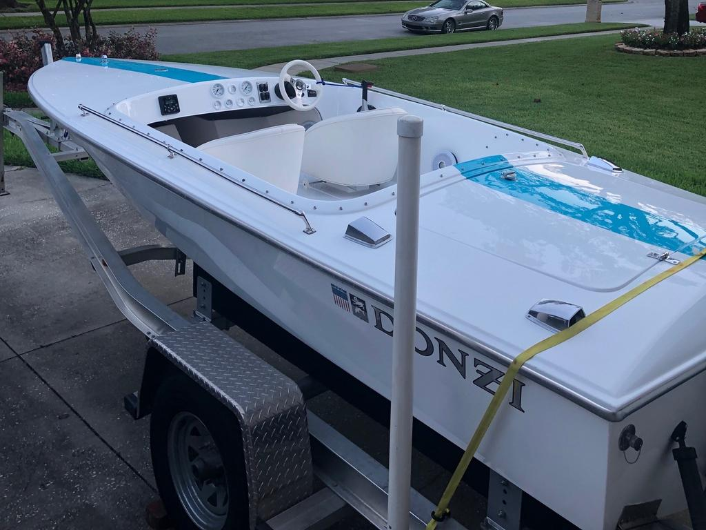 1988 Donzi boat for sale, model of the boat is 18 2   3 & Image # 1 of 9