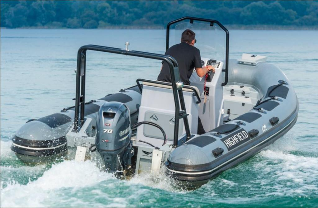 2018 Highfield boat for sale, model of the boat is Ocean Master 540 T & Image # 3 of 5