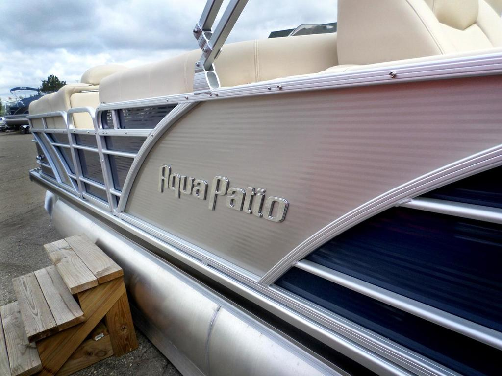 2015 Aqua Patio boat for sale, model of the boat is 240 CB (center bar) & Image # 1 of 1