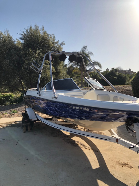 1997 Sea Ray boat for sale, model of the boat is 175 & Image # 7 of 12