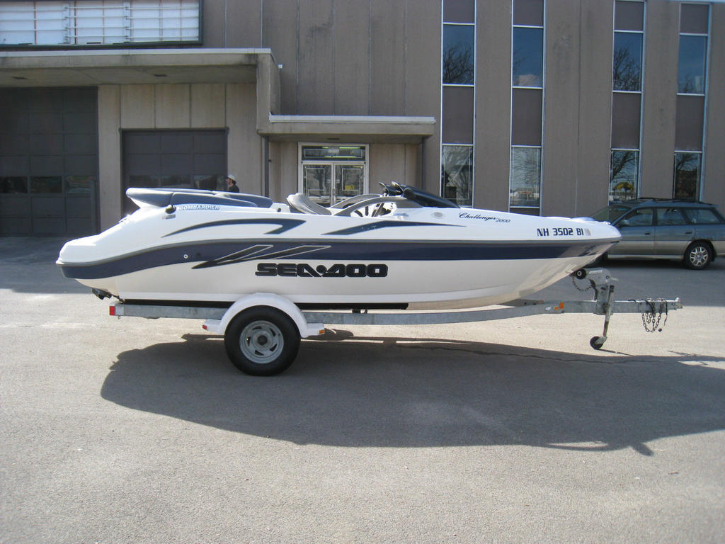 2001 Sea Doo Sportboat boat for sale, model of the boat is CHALLENGER & Image # 14 of 24