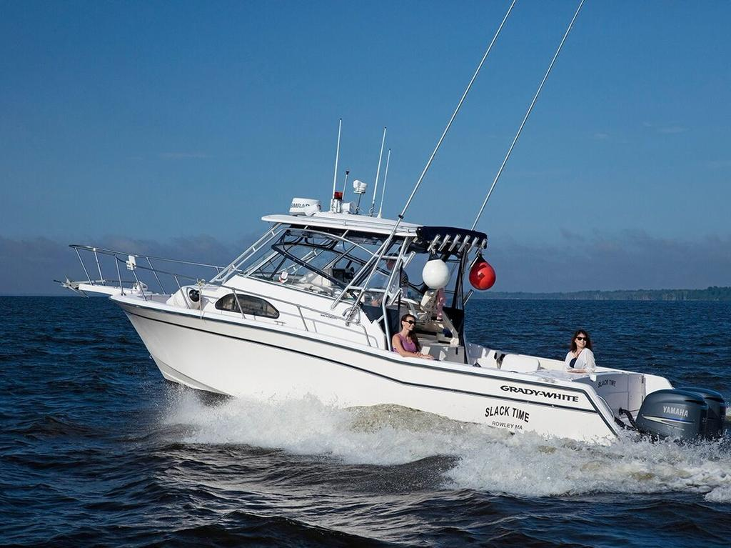 2003 Grady-White boat for sale, model of the boat is Marlin 300 & Image # 1 of 8