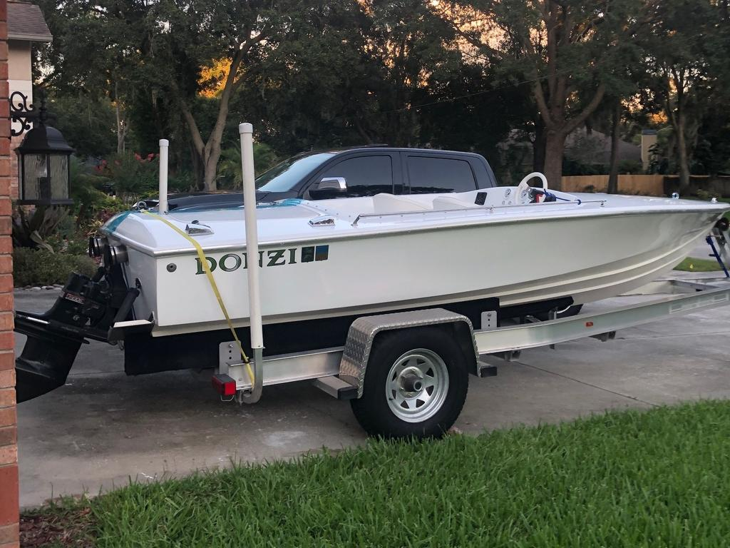 1988 Donzi boat for sale, model of the boat is 18 2   3 & Image # 4 of 9