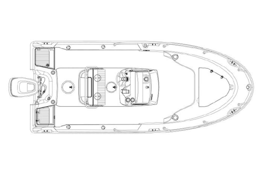 2019 Boston Whaler boat for sale, model of the boat is 190 Outrage & Image # 4 of 4