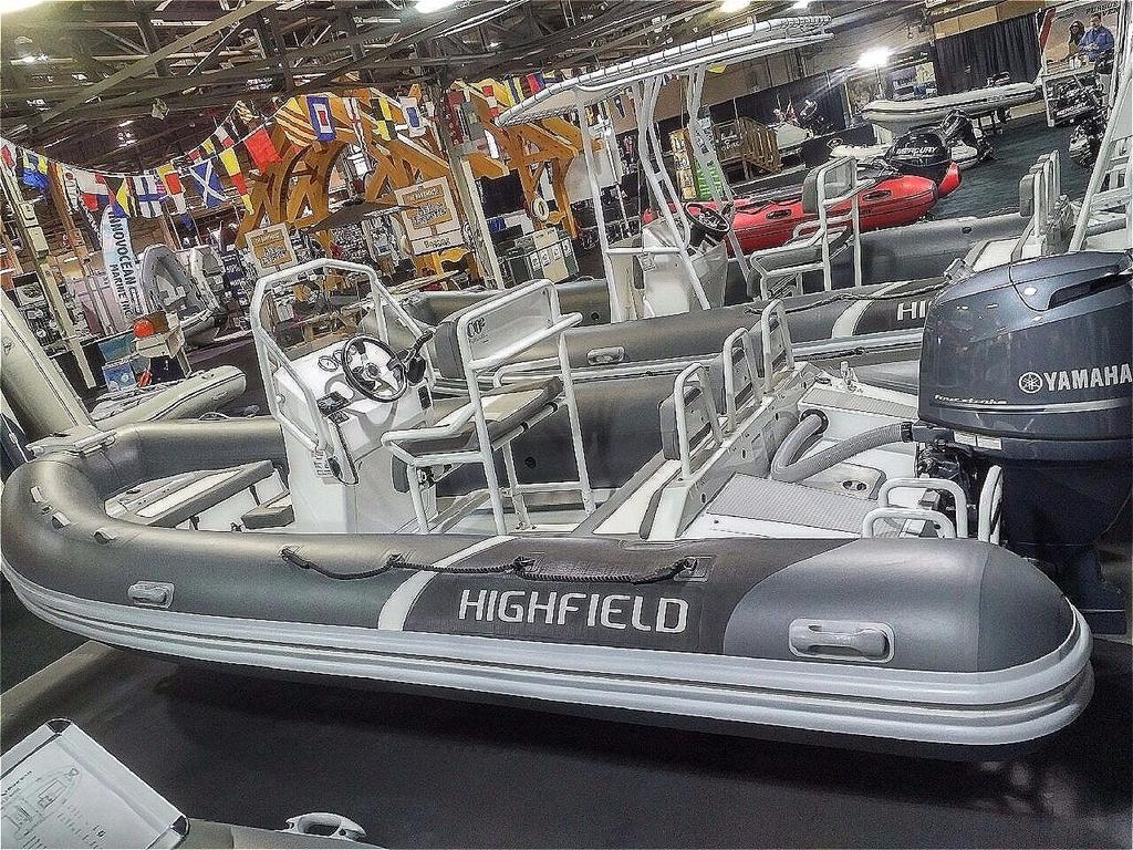 2018 Highfield boat for sale, model of the boat is Ocean Master 540 Deluxe PVC & Image # 3 of 6