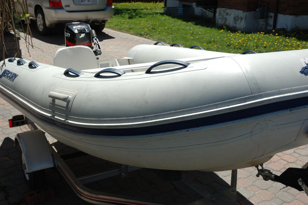 2007 Mercury Inflatables boat for sale, model of the boat is Ocean Runner 330 & Image # 6 of 7