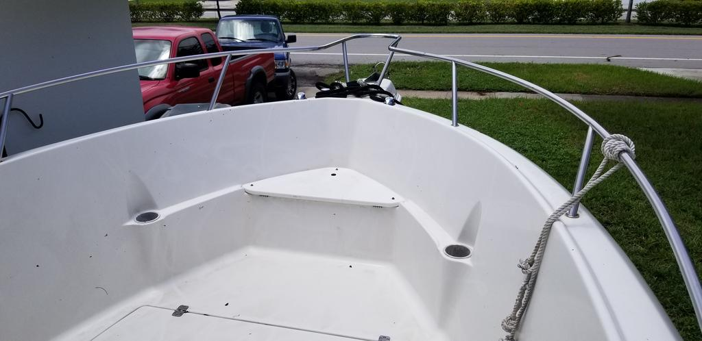 2001 Aquasport boat for sale, model of the boat is 205 Osprey & Image # 6 of 10
