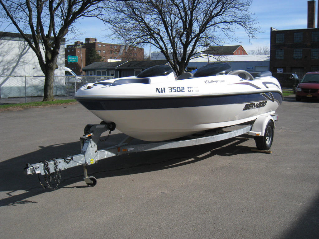 2001 Sea Doo Sportboat boat for sale, model of the boat is CHALLENGER & Image # 22 of 24