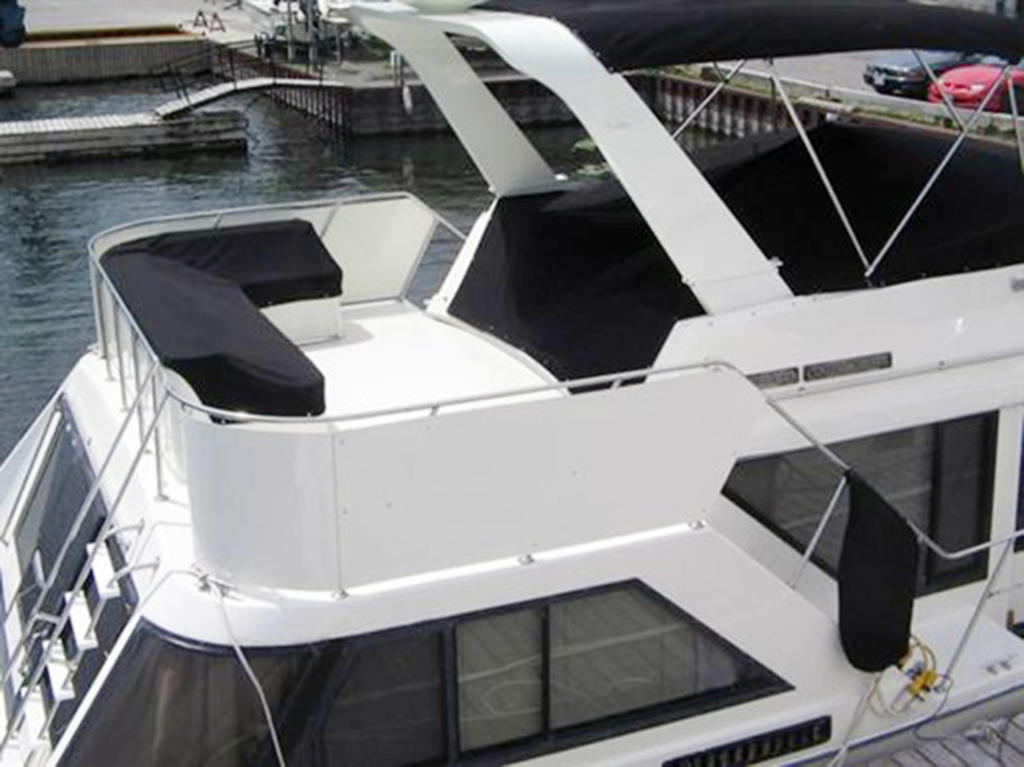 1988 Blue Water boat for sale, model of the boat is 47 COASTAL CRUISER & Image # 5 of 11