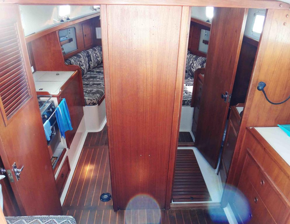 1981 Niagara boat for sale, model of the boat is 35 MkI Sloop & Image # 5 of 18